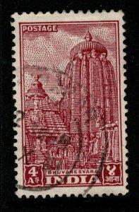 INDIA SG316 1949 4a LAKE USED