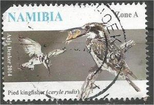 NAMIBIA, 2014, used Zone A,  Birds, Scott