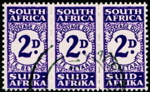SOUTH AFRICA SGD32a, 2d bright violet, FINE USED, CDS. Cat £50.