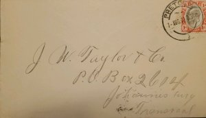 O) 1902  TRANSVAAL, KING EDWAR VII - REVENUE, SCT 253 1p rose and black, XF