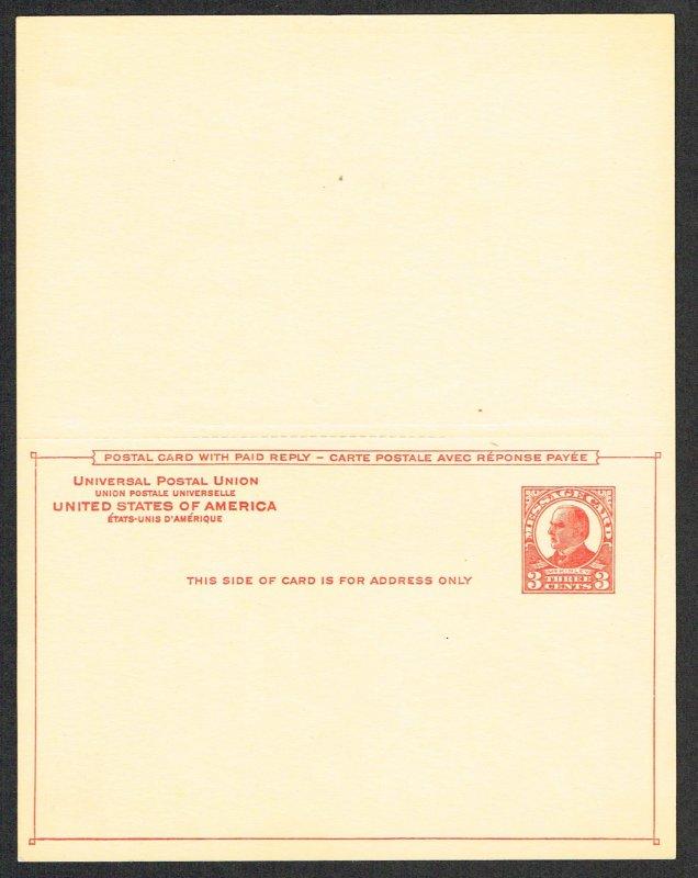 United States Reply Card Scott UY12