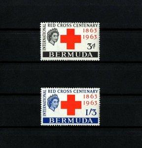 BERMUDA - 1963 - QE II - RED CROSS CENTENARY - MINT - MNH - SET!