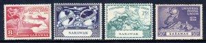 Sarawak - Scott #176-179 - MNH - Some light gum toning - SCV $9.00