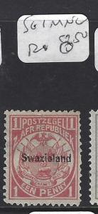 SWAZILAND  (P1510B)  SG 1   MNG