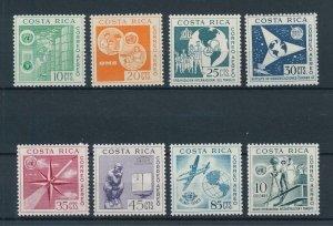 [104328] Costa Rica 1961 United Nations satellite UNESCO health care  MNH