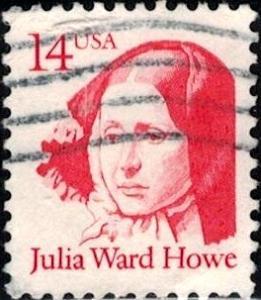 Julia Ward Howe, Socialist & Abolitionist, USA SC#2176 used