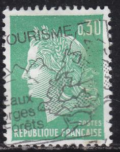 France 1230 Used 1969 Marianne 30c