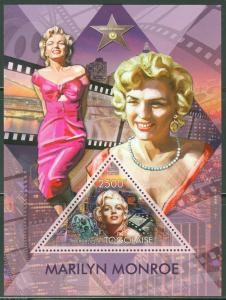 TOGO  2013 MARILYN MONROE  SOUVENIR SHEET MINT NH
