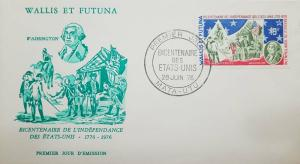 L) 1976 WALLIS AND FUTUNA, WASHINGTON, BICENTENARY OF THE INDEPENDENCE OF THE UN