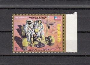 Ajman, Mi cat. 1116 A. Apollo 15 issue. ^