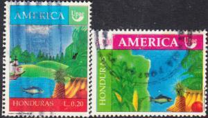 Honduras #363-364 Used Set