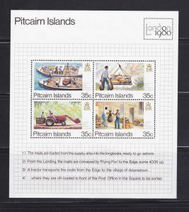 Pitcairn Islands 192 Set MNH London Stamp Exhibition