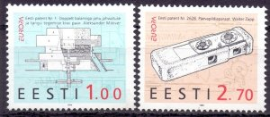 Estonia. 1994. 233-34. Europe. MNH.