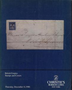 Christie's Robson Lowe: Sale # RLNY27  -  British Empire ...