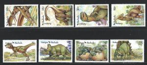 Antigua   mnh  scott # 1541 - 1548