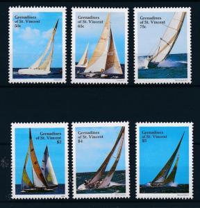 [44450] Grenadines of St. Vincent 1988 Sports Sailing MNH