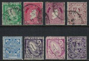 Ireland #106-8,10-1,3-5  CV $13.30