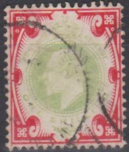 Great Britain #138 F-VF Used CV $40.00 (A7494)