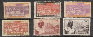 #96-9,189-90 Guadeloupe French Colony Mint  NG