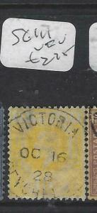 SEYCHELLES  (PP2905B)  KGV  8C     SG 111    VICTORIA  SON CDS   VFU