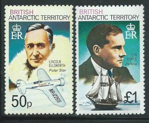 British Antarctic Territory  #58b &59b (MNH) CV $7.15