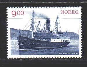 Norway. 2008. 1656 from the series. Steamboat. MNH.
