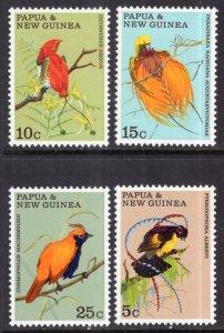 Papua New Guinea 301-304 Birds MNH VF
