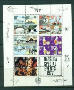 Barbuda #322A comp mnh cv $11.00