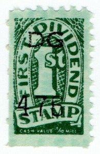 (I.B) US Cinderella : Trading Stamp (First Dividend)