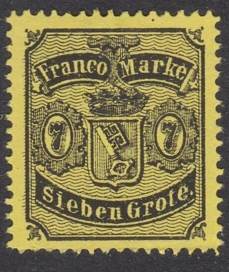 BREMEN GERMANY - an old forgery of a classic stamp - .......................C126