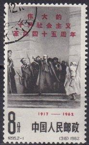 China #635  F-VF Used CV $6.00 (Z1614)