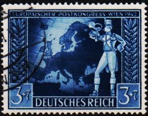 Germany. 1942 3pf+7pf S.G.810. Fine Used
