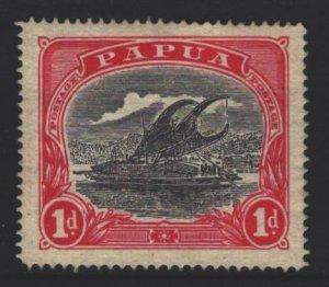 Papua New Guinea Sc#61 MH - pencil on reverse
