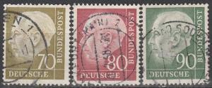 Germany #716-8  F-VF Used CV $8.65 (S2644)