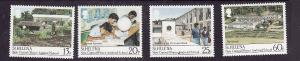 St Helena-Sc#511-4-unused NH set-New Central School-1989-