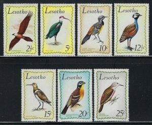 Lesotho Scott 105-111 Mint Hinged