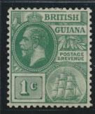 British Guiana SG 259a Mint Hinged  (Sc# 178 see details) Blue Green