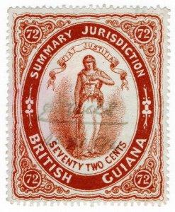 (I.B) British Guiana Revenue : Summary Jurisdiction 72c (1883)