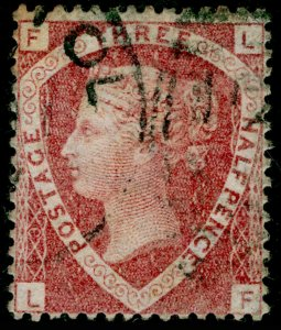 SG51, 1½d rose-red plate 3, USED. Cat £75. LF