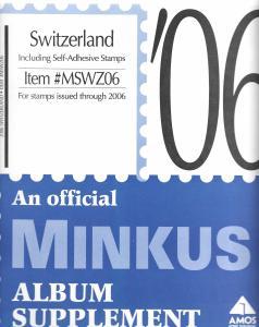 Minkus Switzerland MSWZ06 Supplement 2006