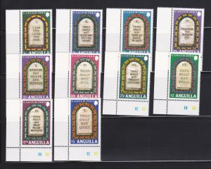 Anguilla 526-535 Set MNH Easter