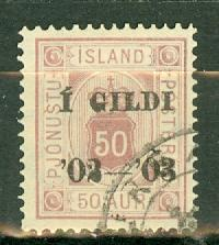 Iceland O30 used CV $75