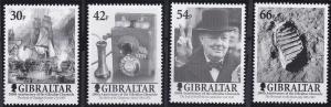 Gibraltar 2001,Chronical Bicentennial MNH set  # 881-884