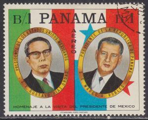 Panama C361a Panama-Mexico Friendship 1968