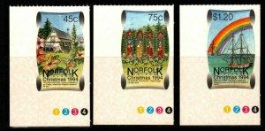 NORFOLK ISLAND SG580/2 1994 CHRISTMAS MNH