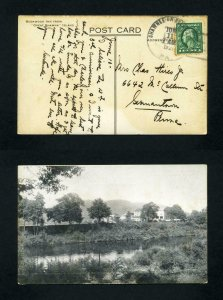 Picture Post Card of Buckwood Inn from Shawnee On Delaware, PA dated 6-11-1921