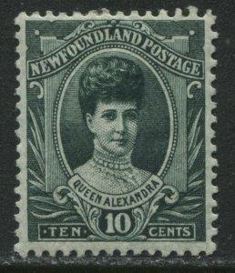 Newfoundland 1911 Royal Family 10 cents mint o.g. hinged