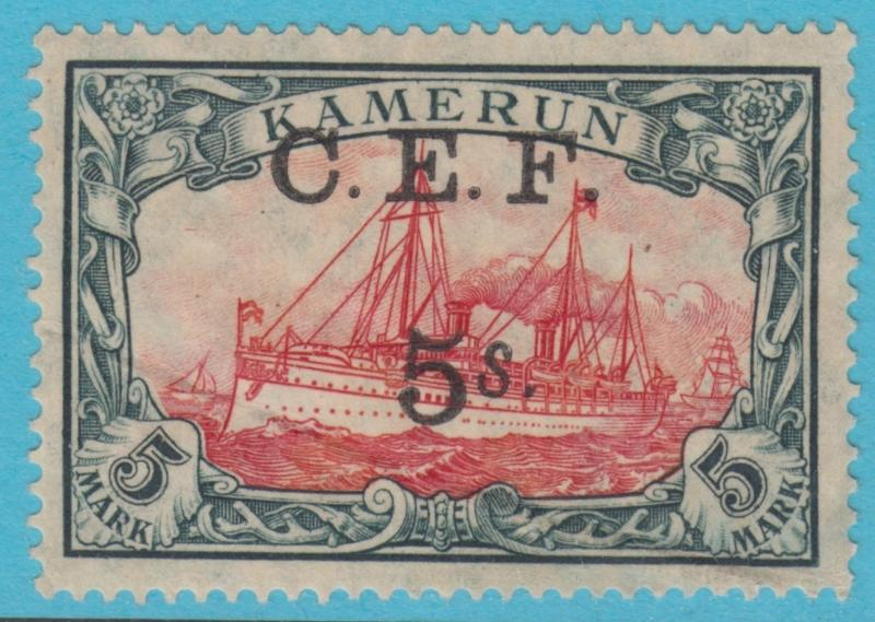 GERMAN COLONIES CAMEROUN 65 C.E.F. MINT HINGED  OG CREASE ATTRACTIVE LOW PRICE !