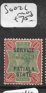 INDIA PATIALA (P2701B) KGVI 80-3  MOG