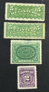 MOMEN: CANADA SG # UNUSED £ LOT #7113
